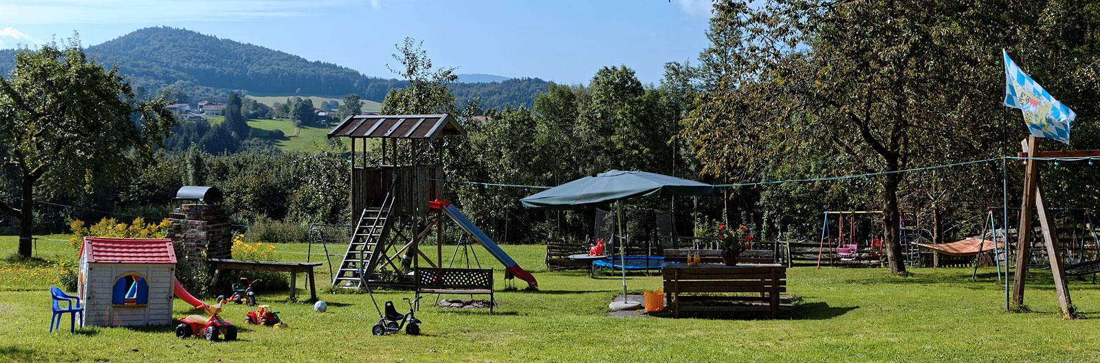 Spielgelände des Zwergelhofes in Waldkirchen